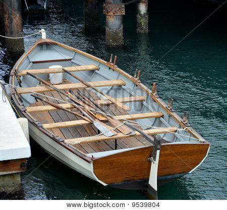 Holz Ruderboot
