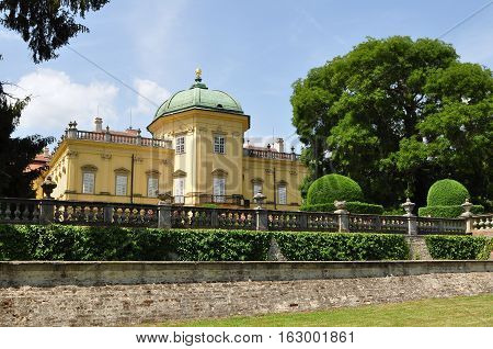 Beautiful Buchlovice castle is a castle in Czech republic. Its history is closely connected with nearby Buchlov Castle