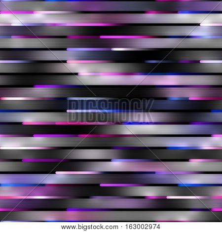 Gradient Neon Motion Lines. Abstract Geometric Background Design. Seamless Multicolor Pattern