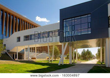Modern It-village in Kazan district - Innopolis city in Republic of Tatarstan Russia