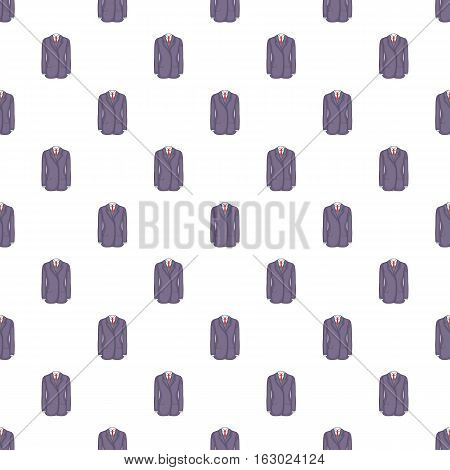 Man suit with tie pattern. Cartoon illustration of man suit with tie vector pattern for web