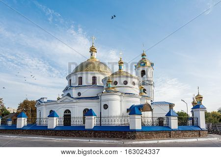 Church of the Ascension. Romny Sumska oblast Ukraine.