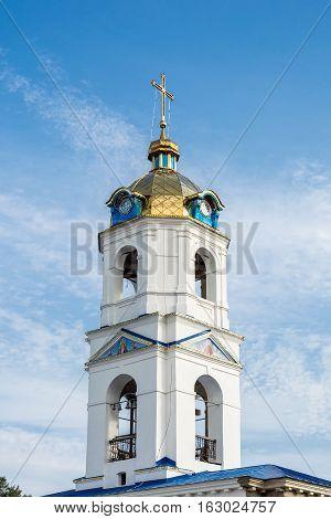 Church of the Ascension in Romny Sumska oblast Ukraine.