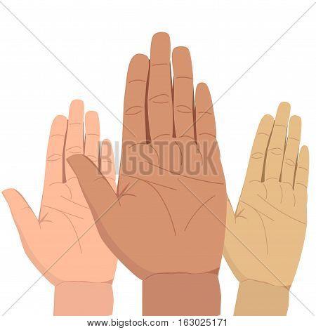 Hand Palm Illustration