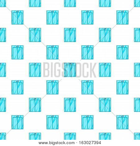 Elevator pattern. Cartoon illustration of elevator vector pattern for web