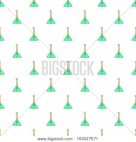 Balalaika pattern. Cartoon illustration of balalaika vector pattern for web