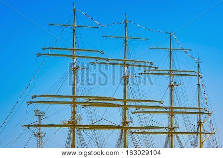 Masts Of Barque