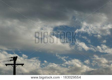 n-us-nv  Las Vegas, Nevada - 2007-10-19:  Dramatic Clouds Above Las Vegas