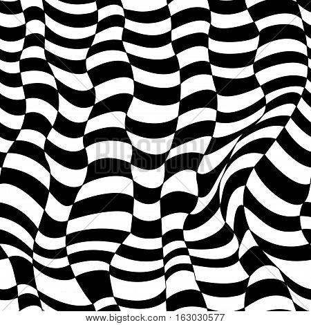 Seamless Pattern. Striped background. Repeating black-white. Vintage seamless lines. Vector illustration. Geometric textured surface for your design.