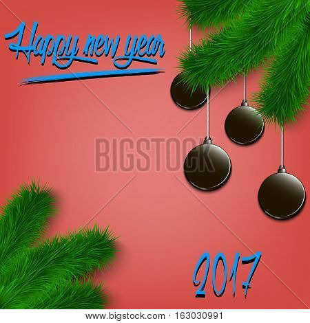 Hockey Pucks On Christmas Tree Branch