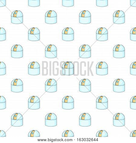Observatory pattern. Cartoon illustration of observatory vector pattern for web