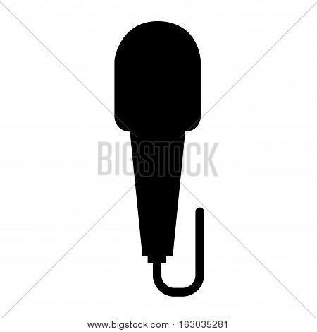 microphone retro device icon vector illustration design