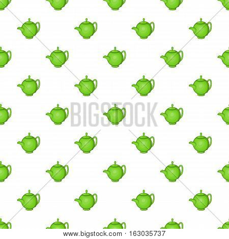Kettle pattern. Cartoon illustration of kettle vector pattern for web