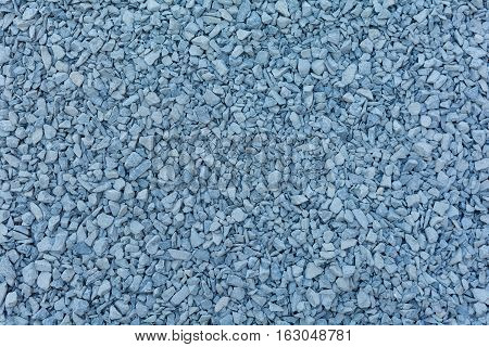 close up granite gravel background for mix concrete in construction industria
