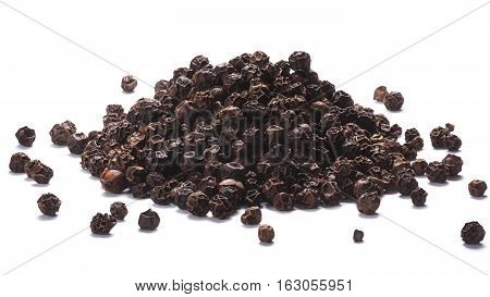 Black Peppercorns Heap, Clipping Paths