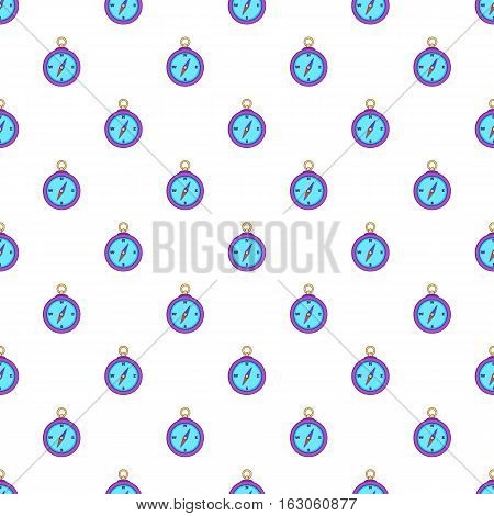Compass pattern. Cartoon illustration of compass vector pattern for web