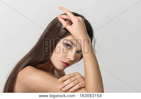 Girl After Using The Cream