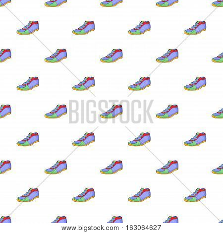 Cleats pattern. Cartoon illustration of cleats vector pattern for web