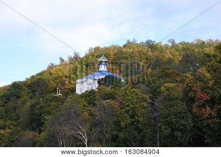 View of Makaryevsky Monastery from Sviyazhsk Island