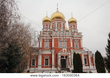 The Orthodox Church in the historical center of the city.