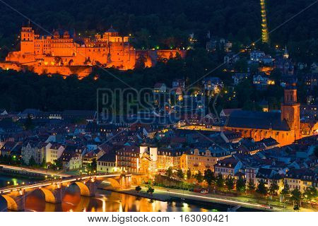 Heidelberg In A Summer Night