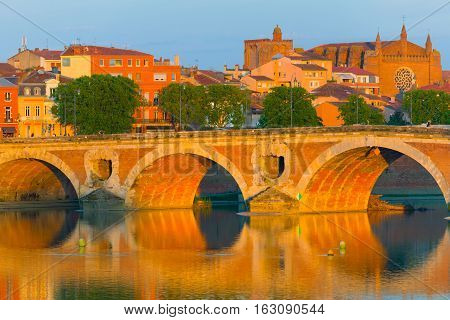 Toulouse In A Summer Evening