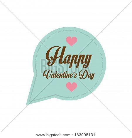 happy valentines day card bubble hearts vector illustration eps 10