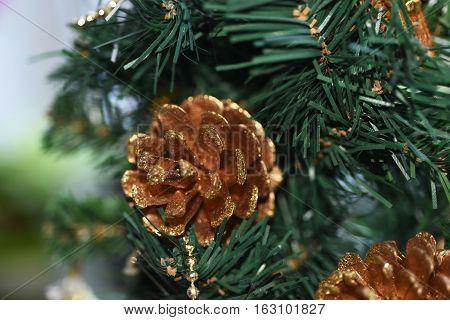 Macro Photo Of Christmas Decoration