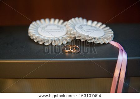 Ring And Bandages For Witnesses