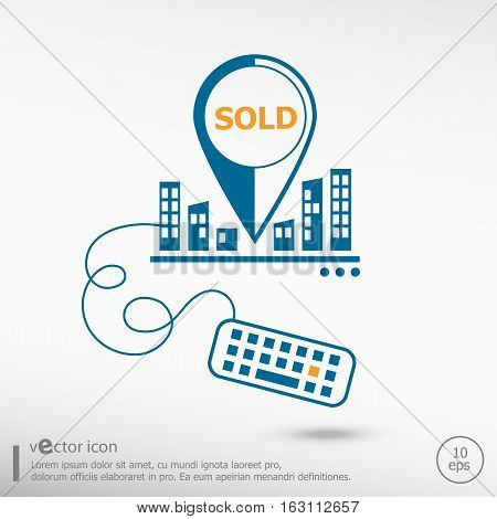 Sold Message And Keyboard