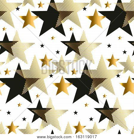 seamless dots modern luxury pattern. geometry circle seamless festive amass style fabric sample. geometric pattern swatch vector illustration