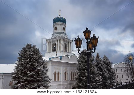 Church of the Intercession of the Holy Dormition Lavra. Sviatohirsk Ukraine