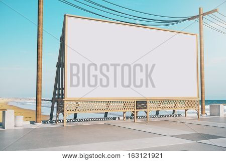 Empty Beach Billboard