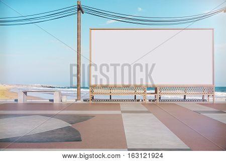 Empty Beach Banner
