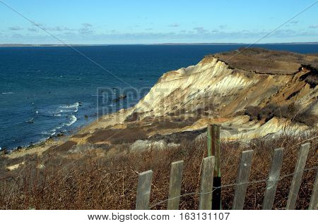 Aquinnah Gay Head Cliffs Martha's Vinyard Massachusetts Cape Cod