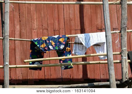Drying Cloth At Woodeen House