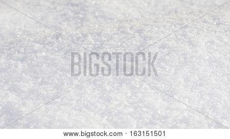 White Glitter bokeh from snow texture background