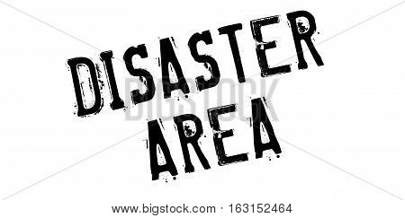 Disaster Area rubber stamp. Grunge design with dust scratches. Effects can be easily removed for a clean, crisp look. Color is easily changed.