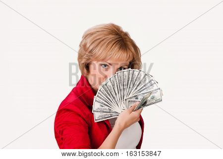 Woman And Money