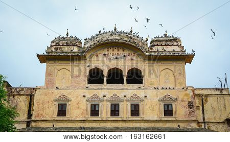 Old Buildings Located In Jaipur, India