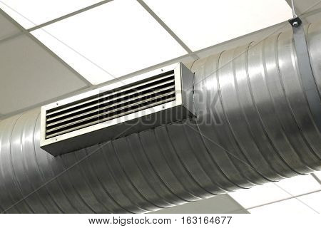 Air Conditioning System In A Factory