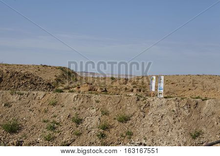 Merzenich - Dug Up Landscape Near Opencast Mine Hambach