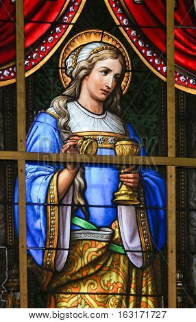 Stained Glass - Mary Magdalene