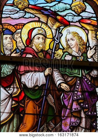 Stained Glass - Saint Livinus