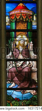 Stained Glass - Ecce Homo