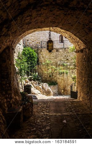 Underpass In Eze, South France