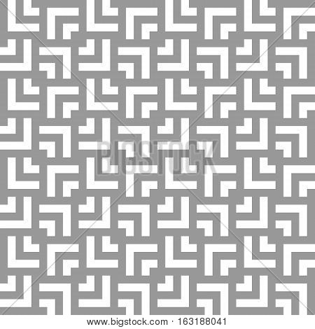 Unobtrusive gray pattern, on a gray background with white corners, large and small