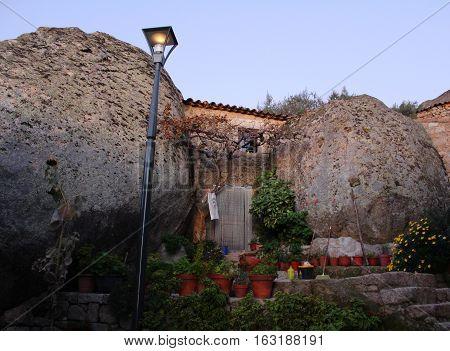 Stone House, Monsanto Village, Portugal. Historic Village