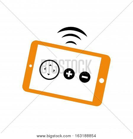 Drone remote control icon vector illustration graphic design
