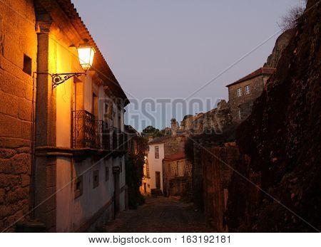 Monsanto Historic Village Sunset, Monsanto Village, Portugal.